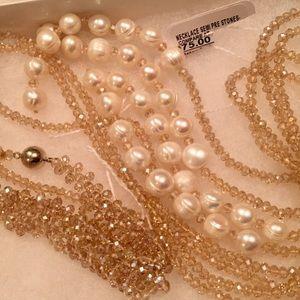 Peter Andrews Necklace and Bracelet Set